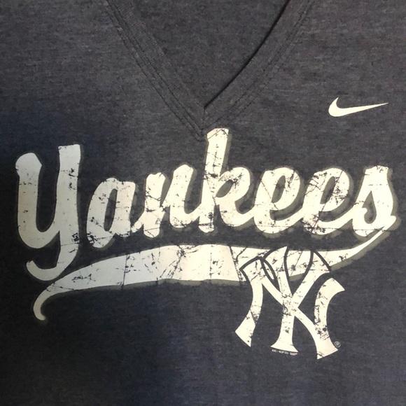 172ee845 Nike Tops | Blue New York Yankees Tshirt M | Poshmark